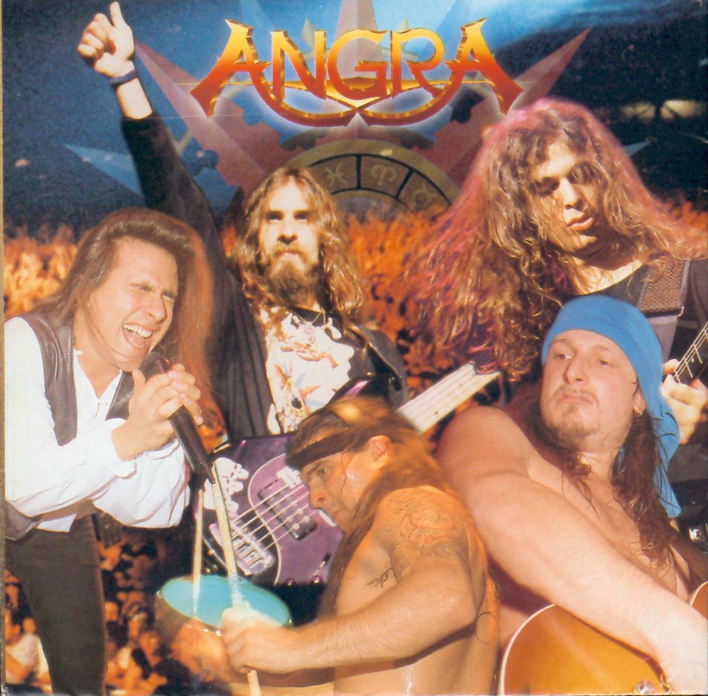 ANGRA - Holy Live cover