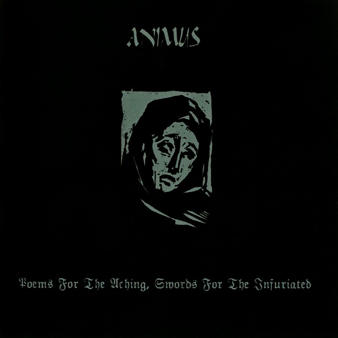 ANIMUS - Poems for the Aching, Swords for the Infuriated cover