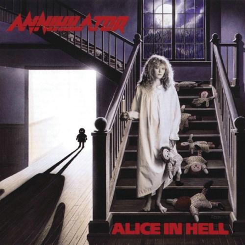 ANNIHILATOR - Alice in Hell cover
