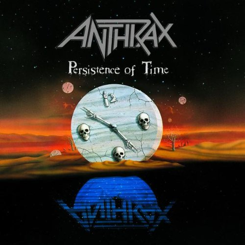 ANTHRAX - Persistence Of Time cover