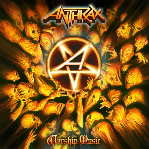 ANTHRAX - Worship Music cover