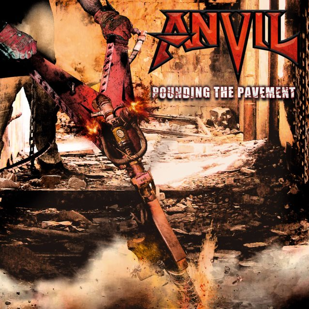 ANVIL - Pounding the Pavement cover