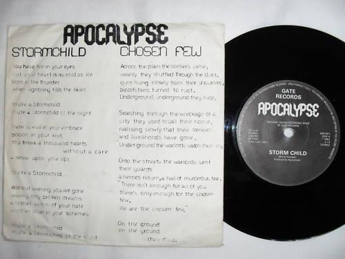 APOCALYPSE - Storm Child cover