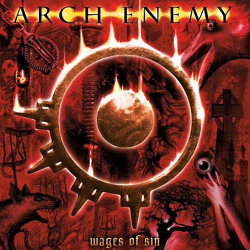 ARCH ENEMY - Wages of Sin cover