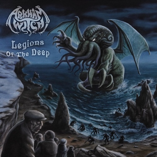 ARKHAM WITCH - Legions of the Deep cover