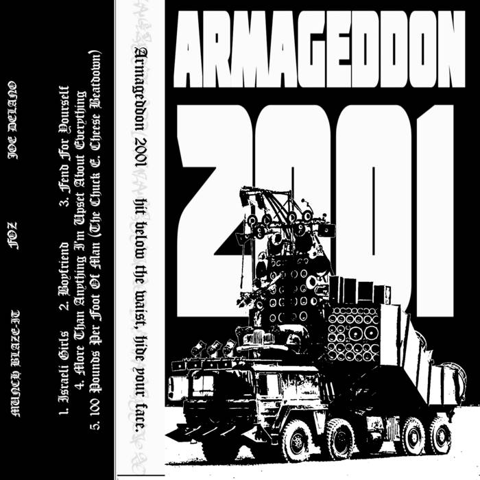 ARMAGEDDON 2001 - Hit Below The Waist, Hide Your Face cover