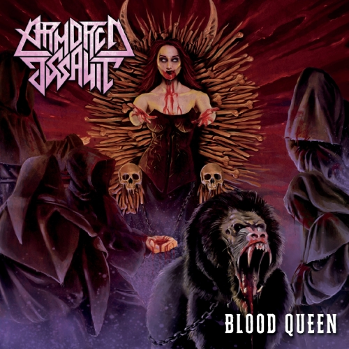 ARMORED ASSAULT - Blood Queen cover