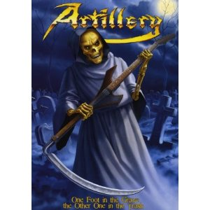 ARTILLERY - One Foot in the Grave the Other in the Trash cover