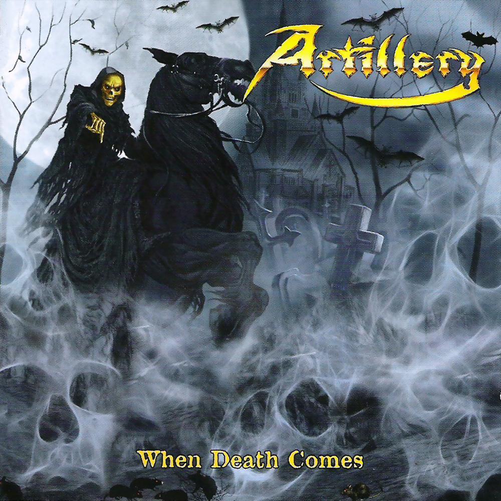 ARTILLERY - When Death Comes cover