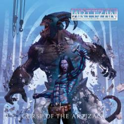 Cover art depicting The Artizan and one of his monstrous creations