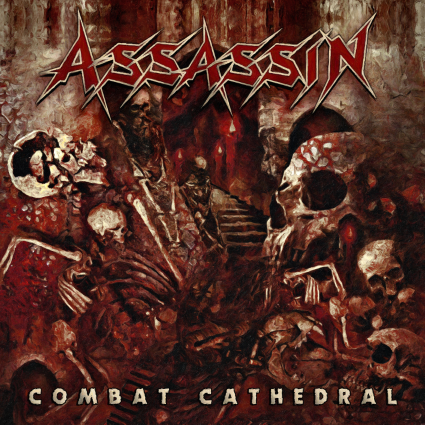 ASSASSIN - Combat Cathedral cover