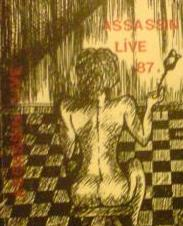 ASSASSIN - Live '87 cover