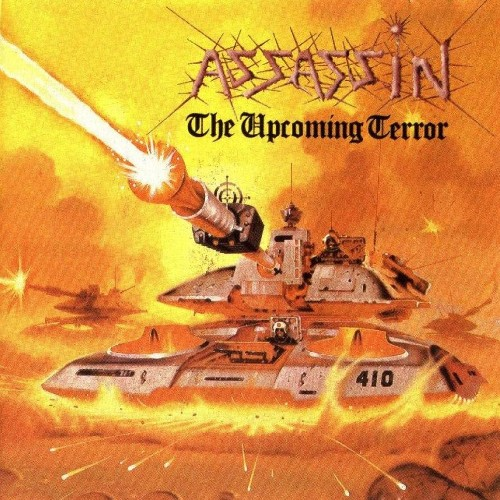 ASSASSIN - The Upcoming Terror cover