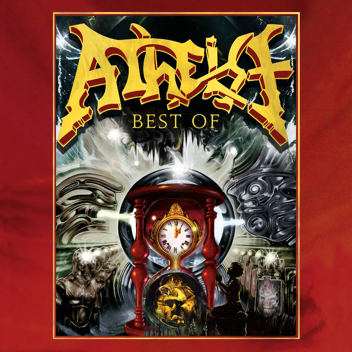 ATHEIST - The Best of Atheist cover