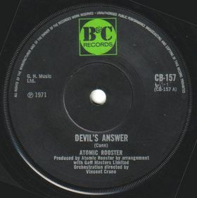 ATOMIC ROOSTER - Devil's Answer cover