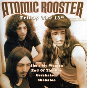 ATOMIC ROOSTER - Friday The 13th cover