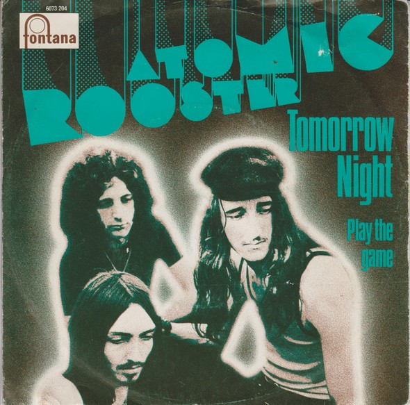 ATOMIC ROOSTER - Tomorrow Night cover