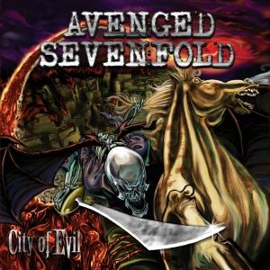 AVENGED SEVENFOLD - City of Evil cover