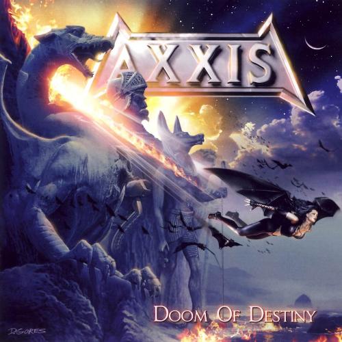 AXXIS - Doom of Destiny cover
