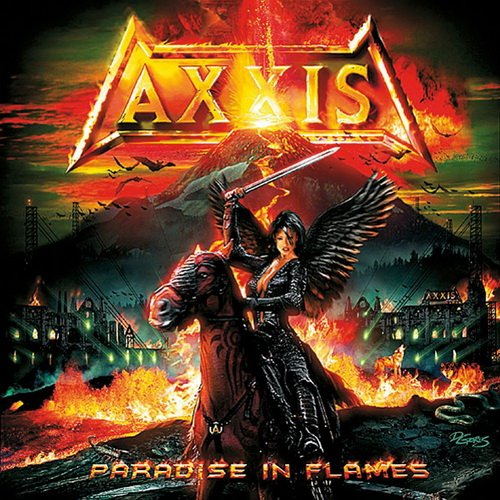 AXXIS - Paradise in Flames cover