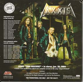 AXXIS - Promo cover