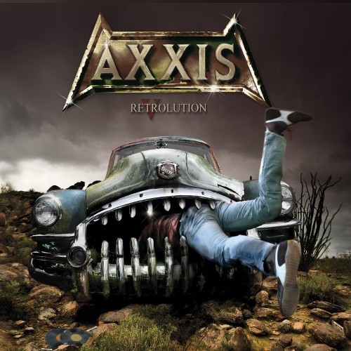 AXXIS - Retrolution cover
