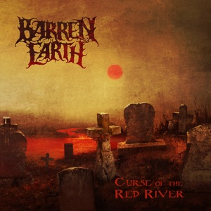 BARREN EARTH - Curse of the Red River cover