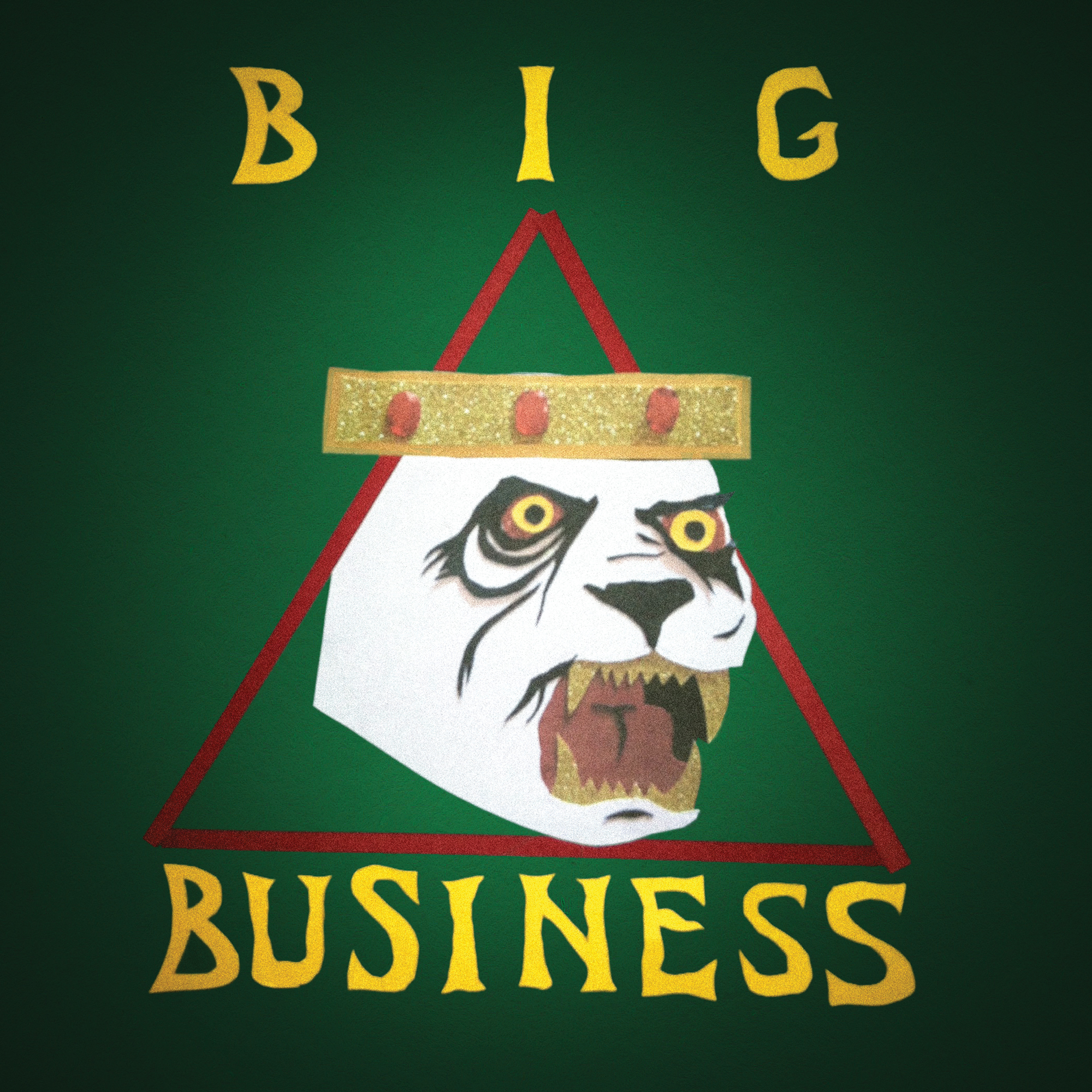 BIG BUSINESS - Blacker Holes cover