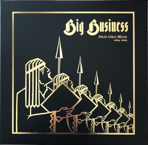 BIG BUSINESS - Solid Gold Metal 2004-2009 cover