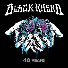 BLACK RHENO - 40 Years cover