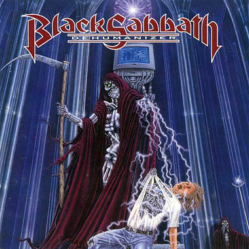 BLACK SABBATH - Dehumanizer cover