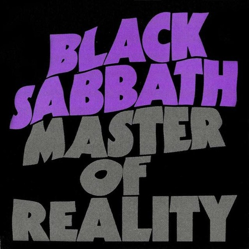 BLACK SABBATH - Master Of Reality cover