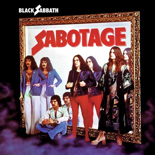 BLACK SABBATH - Sabotage cover