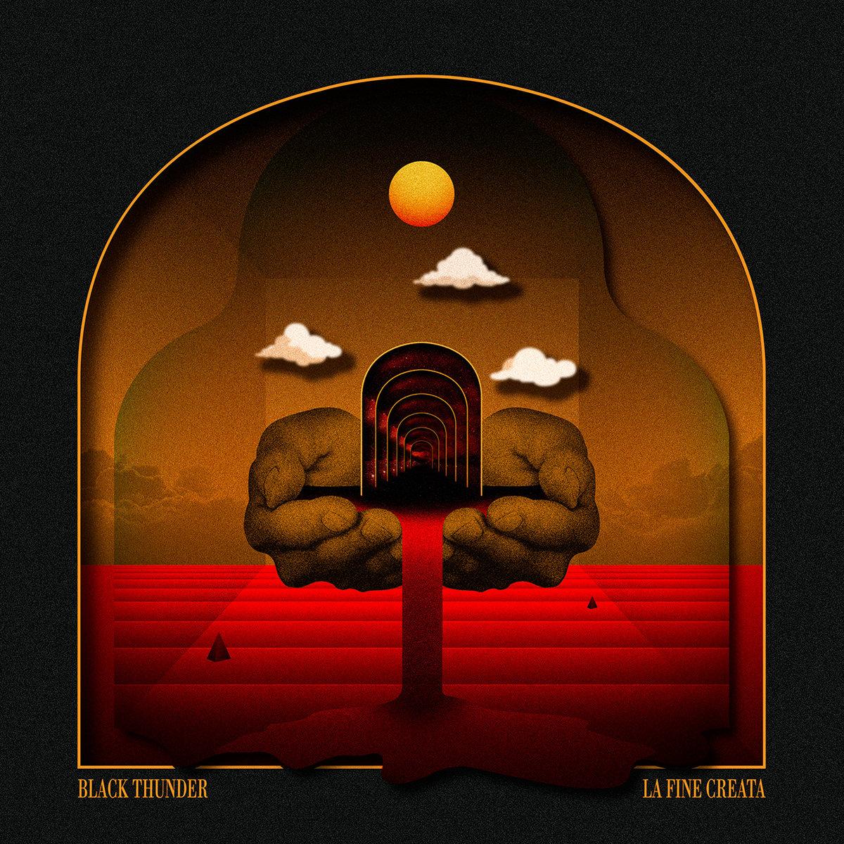 BLACK THUNDER - La Fine Creata cover