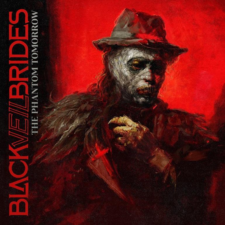 BLACK VEIL BRIDES - The Phantom Tomorrow cover