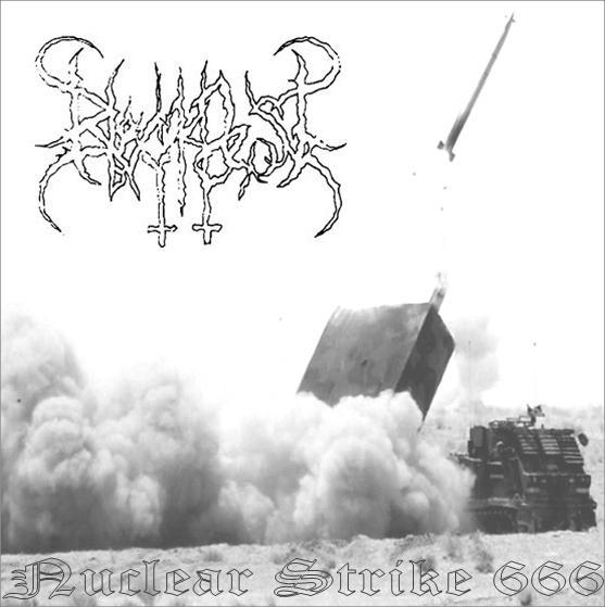 BLACKPEST - Nuclear Strike 666 cover