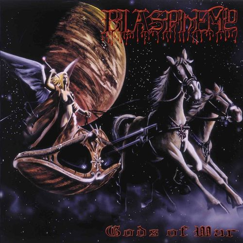 BLASPHEMY - Gods of War cover