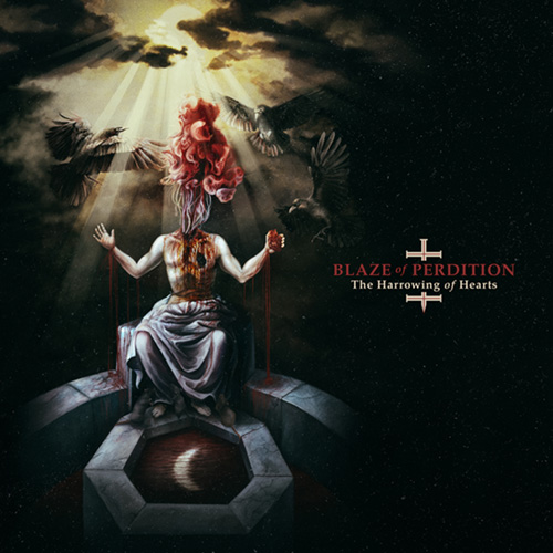 BLAZE OF PERDITION - The Harrowing Of Hearts cover