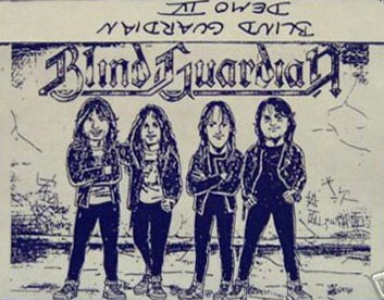 BLIND GUARDIAN - Demo IV cover