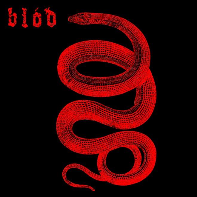 BLÓÐ - Serpent cover