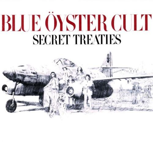 BLUE ÖYSTER CULT - Secret Treaties cover