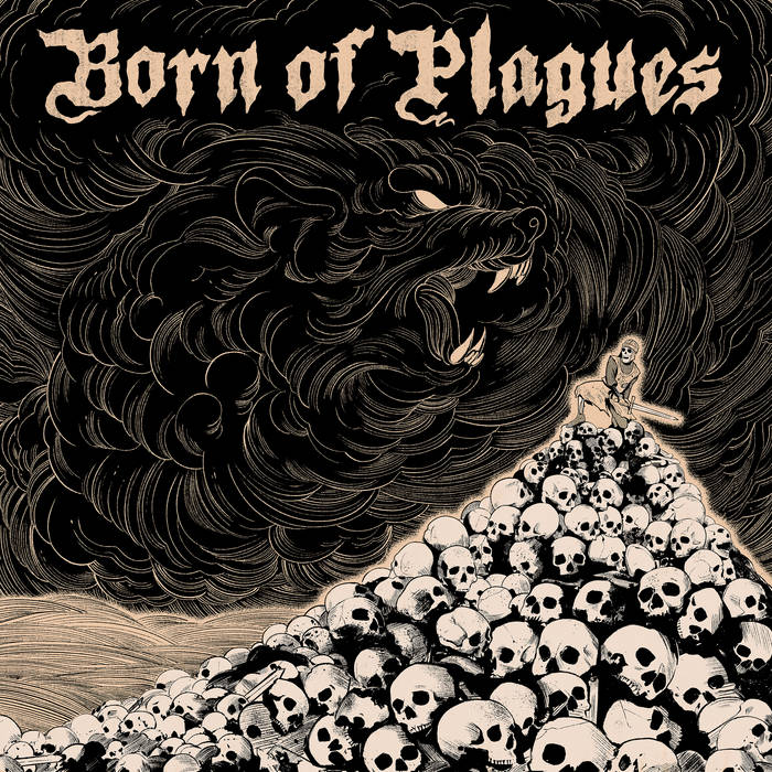 BORN OF PLAGUES - Cast Down cover