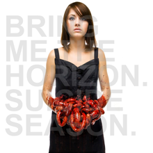 BRING ME THE HORIZON - Suicide Season cover