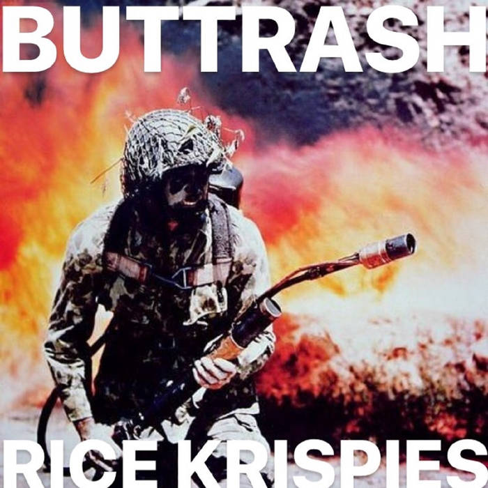 BUTTRASH - Rice Krispies cover