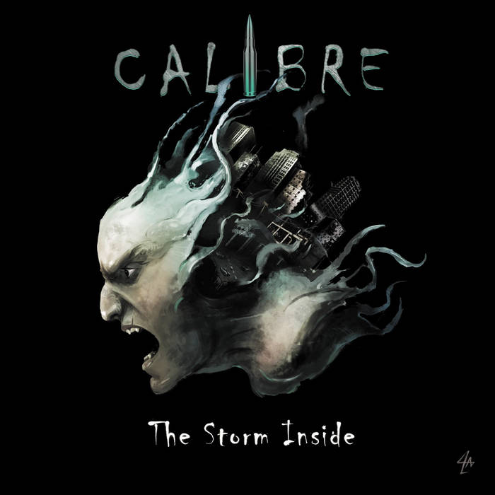 CALIBRE - The Storm Inside cover