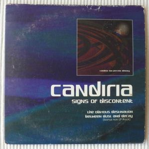 CANDIRIA - Signs Of Discontent cover