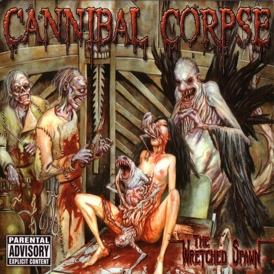 CANNIBAL CORPSE - The Wretched Spawn cover