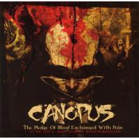CANOPUS - The Pledge of Blood Exchanged with Pain cover