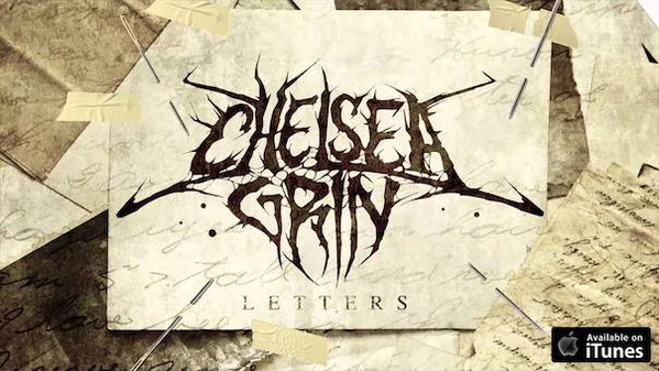 CHELSEA GRIN - Letters cover