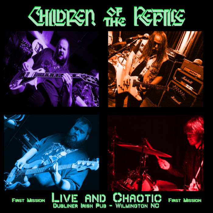 CHILDREN OF THE REPTILE - Live And Chaotic - First Mission cover
